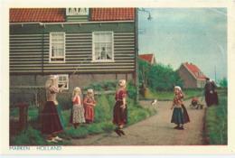 Marken - Spelende Kinderen - 1954 - Marken