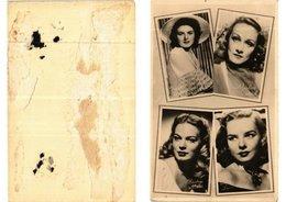 CPA AK Ingrid Bergman- Marlene Dietrich. K.Miller-D.Lynn. FILM STAR (621227) - Acteurs