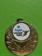 Luxembourg Médaille, Foyer Vollekslaf Walfer - Tokens & Medals