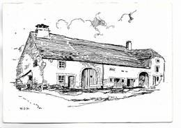 70 - Haute-Saône - Mailleroncourt Près Vesoul. Carte Dessinée. Beau Timbre Au Verso - Altri Comuni