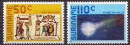 Surinam MNH Pair - Astronomy
