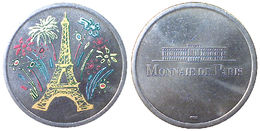 01951 GETTONE JETON TOKEN MDP MONNAIE DE PARIS TOUR EIFFEL - Monnaie De Paris