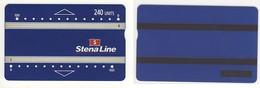 SWEDEN___rare Landis Gyr 240u Stena Line Telecarte Pour Ferry___L&G CN 725L - Suède