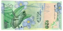 """Bermuda 20 Dollars 2009 """"Onion"""" S/N 001171 UNC .PL. - Bermude"""