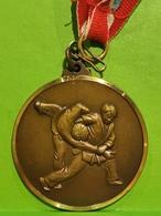 Luxembourg Médaille, Judo, Coupe Du Printemps 2004 - Tokens & Medals