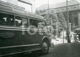 1951 EXCURSIONS TOURISME PARIS FRANCE BUS AUTOBUS COOLSINGEL ROTTERDAM NETHERLANDS HOLLAND PHOTO FOTO - Automobiles