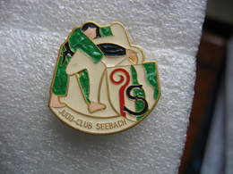 Pin's Du Judo Club De La Commune De SEEBACH (Dépt 67) - Judo