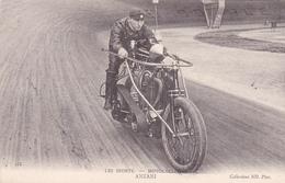 "MOTO-Les Sports-MOTOCYCLISTE ""ANZANI""--Illustrateur-N.D.-Bon Etat - Motos"