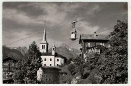 Suisse // Schweiz // Switzerland //  Valais // Stalden, Seilbahn Stalden-Staldenried - VS Valais