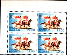 92225) AZZORRE-1980 Serie EUROPA  In Quartina-MNH** - 1910-... Republic