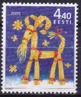 Estland / Eesti  2005 Esel Aus Stroh - Estonia