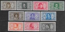 Italia Italy 1932 Regno Società Dante Alighieri 10val Sa N.303-308,310-311,313-314 Nuovi MH * - 1900-44 Victor Emmanuel III