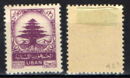 LIBANO - 1950 - CEDRO DEL LIBANO - MH - Libano