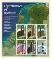 GAMBIA Mi. Nr. 4793-4798 Niederländische Leuchttürme - MNH - Leuchttürme