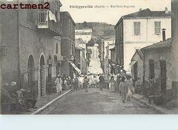 PHILIPPEVILLE RUE SAINT-AUGUSTIN ALGERIE AFRIQUE - Algeria