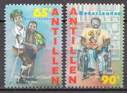 Netherlands Antilles MNH Pair - Handicaps
