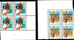 92230) MADEIRA-1982 SERIE ETNOGRAFIA LOCALE In Quartina-MNH** - 1910-... République