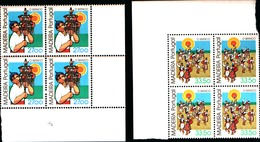 92230) MADEIRA-1982 SERIE ETNOGRAFIA LOCALE In Quartina-MNH** - 1910-... Republic