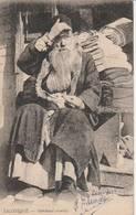 Grece  - Salonique  - Marchand  Israelite  - Scan Recto-verso - Grecia