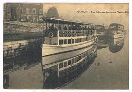 CPA : NAMUR - Le Bateau Touriste Devant L'école Communale Des Filles Du Grognon - Namur