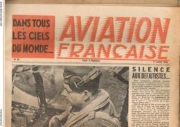 AVIATION FRANCAISE.ANTOINE DE SAINT-EXUPERY.DANS TOUS LES CIELS DE FRANCE. 1945. - Avion