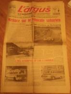 L'ARGUS 26 MAI 1960 - Menace Sur Le Véhicule Saharien - Nice Les Car à L'honneur ( BERLIET Touring Car - MERCEDES BENZ ) - Journaux - Quotidiens