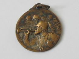 Médaille 11 Mars 1917 - Pour Nos Soldats - ROUEN - Graveur :F.RASUMNY *** EN ACHAT IMMEDIAT **** - 1914-18
