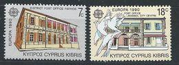 Chypre YT 746-747 XX / MNH Europa 1990 Architecture - Cyprus (Republic)