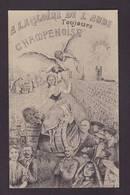 CPA Aube 10 Vignerons Révolte De 1911 écrite Champenoise - Bar-sur-Aube