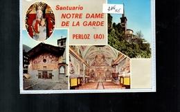 765 Perloz Aosta  Non Viaggiata - Altre Città