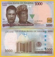 Nigeria 1000 Naira P-36p(1) 2018 UNC Banknote - Nigeria