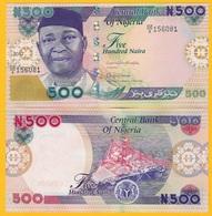 Nigeria 500 Naira P-30p 2017 UNC Banknote - Nigeria