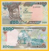 Nigeria 200 Naira P-29 2017 UNC Banknote - Nigeria
