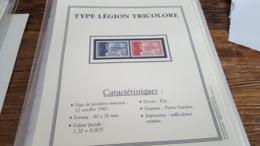 LOT 480917 TIMBRE DE FRANCE NEUF**   AVEC FICHE DETAILLE  BLOC - Frankreich