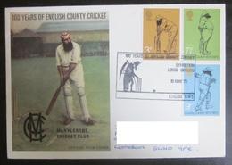 Grande-Bretagne - FDC - 1973 - Cricket - Cricket