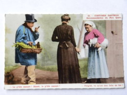 CPSM (72) Sarthe - Lot De 7 Cartes - Costumes Sarthois - Andere Gemeenten