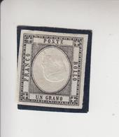 Italië Michel-nr 3 Herdruk Met Omgekeerd Middenstuk * - Mint/hinged