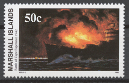 Marshall Islands 1992 Mi# 443** WW2, BATTLE OF CAPE ESPERANCE - Marshall