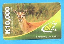 UK Prepaid Phonecard - Sambia
