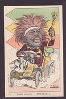 CPA Moloch Satirique Caricature Poires Augustes Non Circulé Abyssinie Ménélik - Moloch