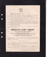 LIEGE BLEYBERG PAQUOT Remy Veuf SIMON 1822 - 19.. ? Societés D'ESCOMBRERA-BLEYBERG Et PUERTOLLANO ORBAN - Décès