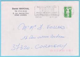 J.M. 32 - Oblitération Mécanique - N° 20  - Compositeur - DEBUSSY - STRAVINSKI - Musique