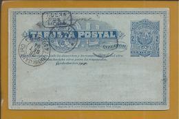 Postal Stationery Uruguay Circulated From Montevideo To Rio De Janeiro. 'Fuera De Hora' 1894. Horse. Sun. Pferd. Sonne - Uruguay