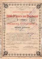 Titre Ancien - Sté Civile De Prêts Hypothécaires - Emprunt De La Compagnie Des Eaux Minérales D'Enghien - 1868 - Rare - Water