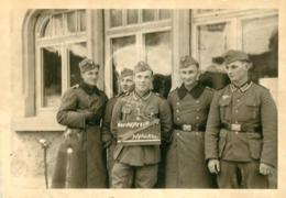 SOLDATS ALLEMANDS  SECONDE GUERRE 10 X 7 CM - Guerre, Militaire