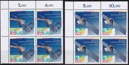 """BRD, 1991 Nr. 1526-1527 **,  2 Viererblöcke Mit Eckrand Oben Links, """"Europa"""" - Nuovi"""