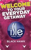 Isle Casino Hotel Black Hawk CO - Hotel Room Key Card - Hotel Keycards