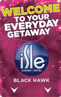 Isle Casino Hotel Black Hawk CO - Hotel Room Key Card - Cartas De Hotels