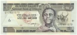 Ethiopia - 1 Birr - 2006 / EE 19983 - Unc. - Pick 46.d - Sign. 6 - Etiopía