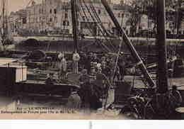 LA ROCHELLE - Embarquement De Forçats Pour L'Ile De Ré - La Rochelle
